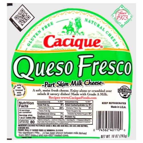 Cacique Queso Fresco Perspective: front