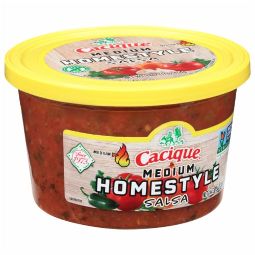 Cacique Medium Homestyle Salsa Perspective: front
