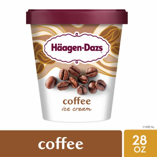 Haagen-Dazs Gluten Free Coffee Ice Cream Perspective: front