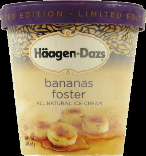 Kroger - Haagen-Dazs Bananas Foster Ice Cream, 14 Fl Oz