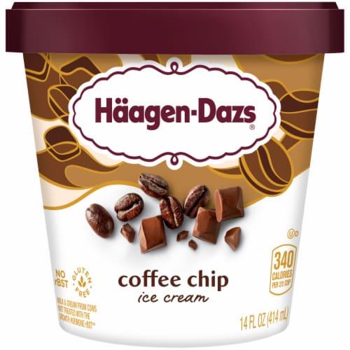 Haagen-Dazs® Gluten Free Coffee Chip Ice Cream Perspective: front