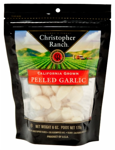 Christopher Ranch Peeled Garlic Perspective: front