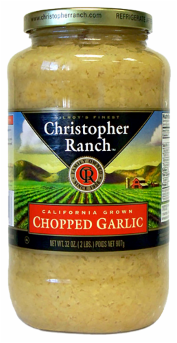 Christopher Ranch Chopped Garlic Perspective: front