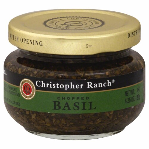 Christopher Ranch Chopped Basil Perspective: front