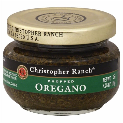 Christopher Ranch® Chopped Oregano Perspective: front