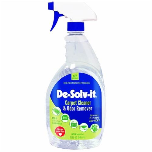 De-Solv-it Carpet Cleaner & Odor Remover 33oz spray Perspective: front