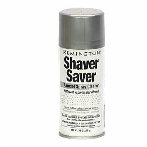 Remington Shaver Saver Aerosol Spray Cleaner Perspective: front