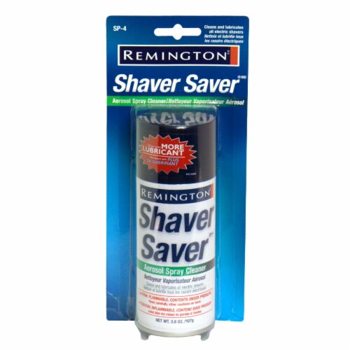Remington Shaver Saver Spray Perspective: front