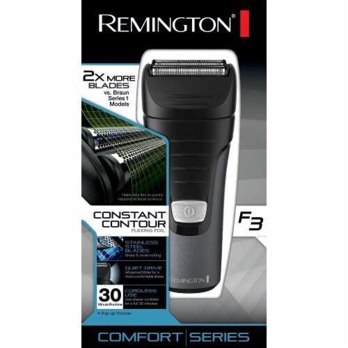 Remington F3 Comfort Series Constant Contour Flexing Foil Shaver Perspective: front