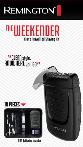 Remington Weekender Men's Travel Shaving Kit Perspective: front