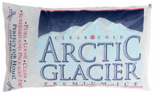 Arctic Glacier Bagged Ice Cubes Perspective: front
