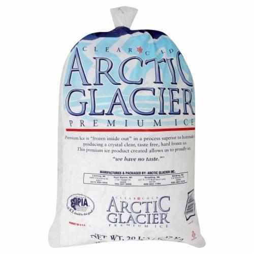 Arctic Glacier Premium Ice Bag Perspective: front