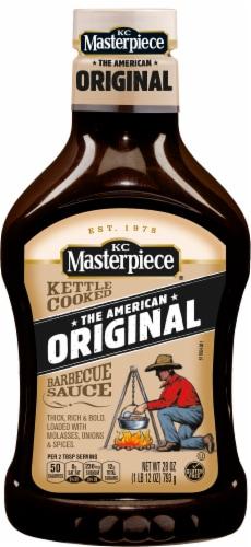 KC Masterpiece Original BBQ Sauce Perspective: front