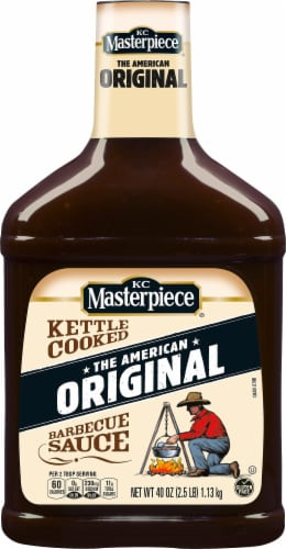 KC Masterpiece Original Barbecue Sauce Perspective: front