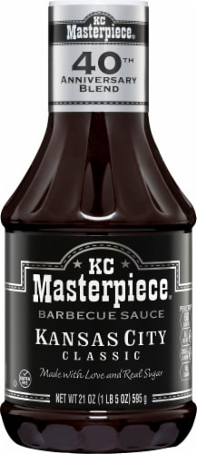 KC Masterpiece Kansas City Classic Barbecue Sauce Perspective: front