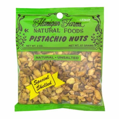 Flanigan Farms Pistachios Nuts Special Perspective: front