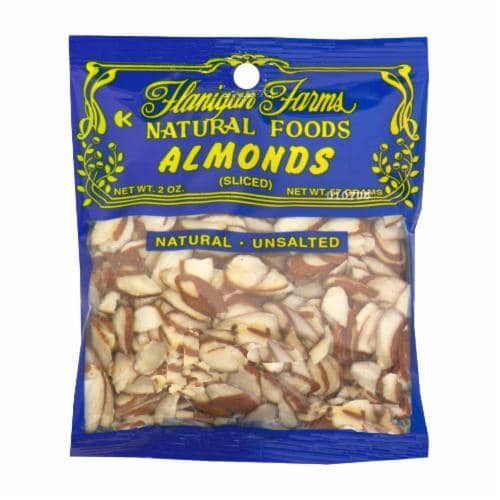 Flanigan Farms Sliced Almonds Perspective: front