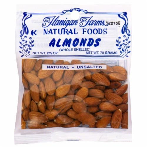 Flanigan Farms Whole Almonds Perspective: front