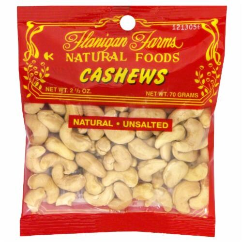Flanigan Farms Cashews Perspective: front