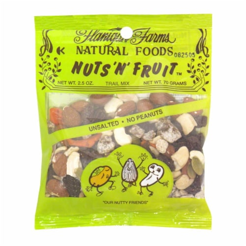 Flanigan Farms Nuts 'N' Fruit Trail Mix Perspective: front