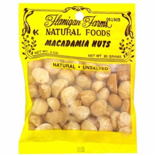 Flanigan Farms Macadamia Nuts Perspective: front