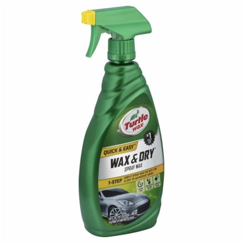 Turtle Wax Quick & Easy Wax & Dry Spray Wax Perspective: front