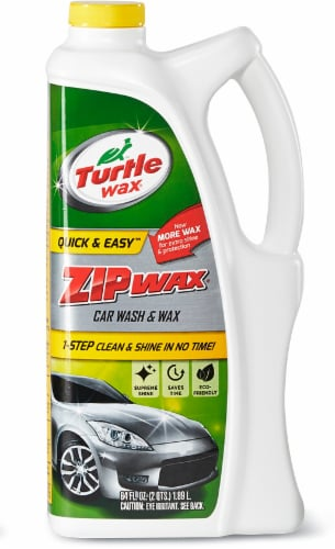 Turtle Wax Quick and Easy Zip Wax Car Wash and Wax Perspective: front