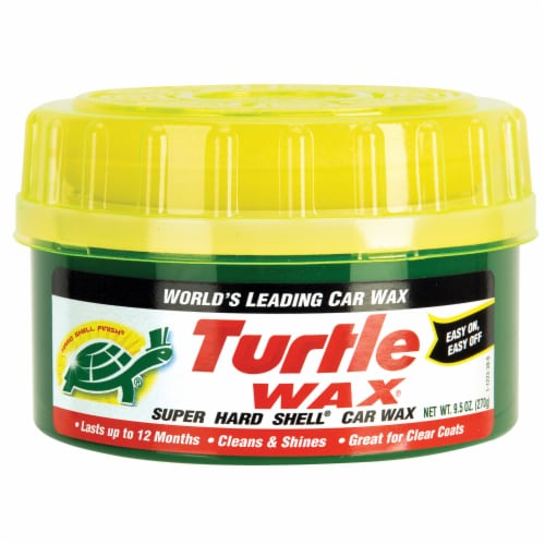 Turtle Wax Super Hard Shell Car Wax Perspective: front
