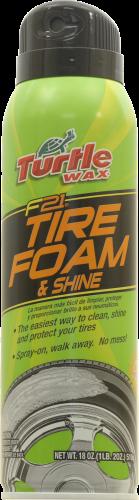 Turtle Wax F21 Tire Foam & Shine Perspective: front