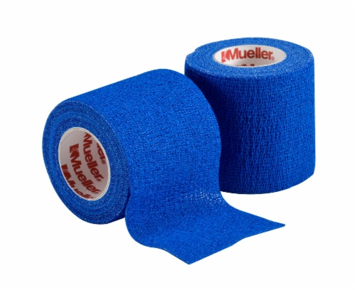 Mueller Sports Wrap - Blue Perspective: front