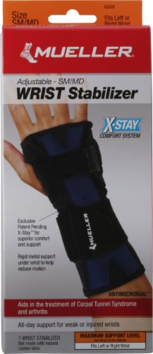 Mueller X-Stay Wrist Stabilizer Perspective: front