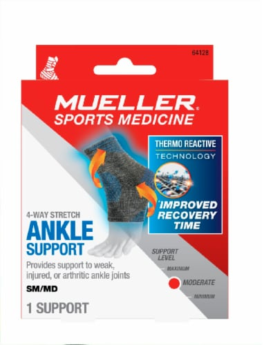 Mueller Sports Medicine 4 Way Stretch Ankle Support Perspective: front
