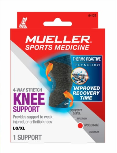 Mueller Sports Medicine 4-Way Stretch Knee Support Perspective: front