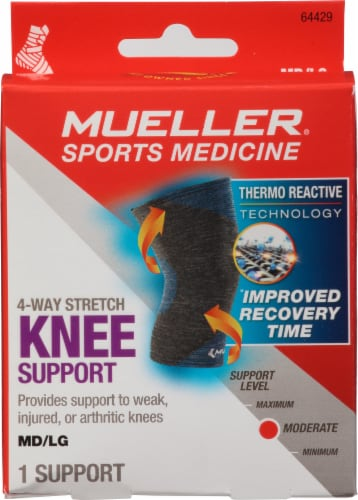 Mueller 4-Way Stretch Knee Support Perspective: front