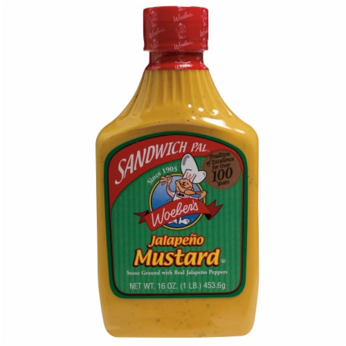 Woeber's Jalapeno Mustard Perspective: front