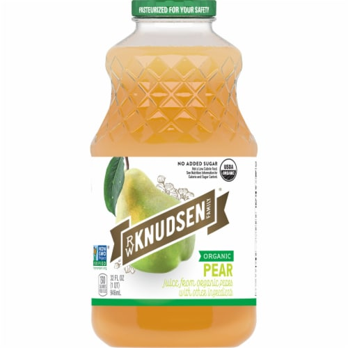 R.W. Knudsen Organic Pear Juice Perspective: front