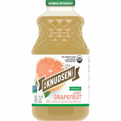 R.W. Knudsen Organic Just Grapefruit Juice Perspective: front