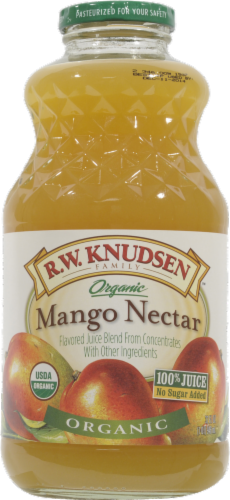 R.W. Knudsen Organic Mango Nectar Juice Perspective: front