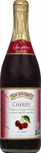 R.W. Knudsen Sparkling Cherry Juice Perspective: front
