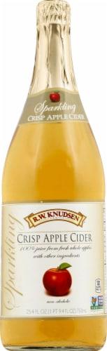 R.W. Knudsen Sparkling Crisp Apple Cider Perspective: front