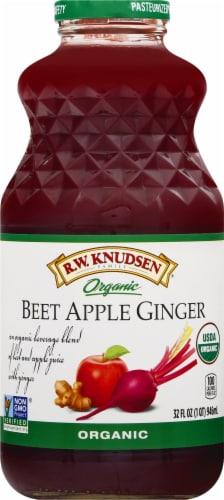 Knudsen Organic Beet Apple Ginger Juice Perspective: front
