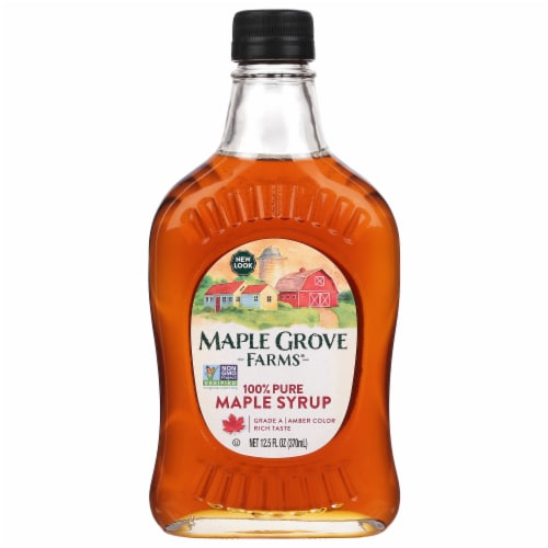 Maple Grove Farms 100% Pure Maple Syrup Perspective: front