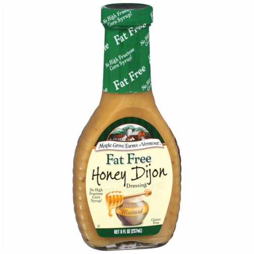 Maple Grove Farms Fat Free Honey Dijon Dressing Perspective: front