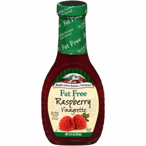 Maple Grove Farms of Vermont Fat Free Raspberry Vinaigrette Perspective: front