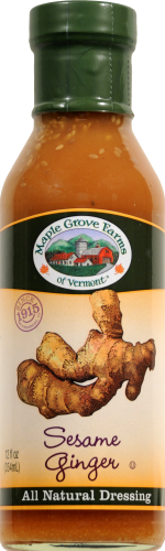 Maple Grove Farms Sesame Ginger Dressing Perspective: front