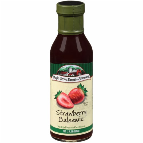 Maple Grove Farms Strawberry Balsamic Dressing Perspective: front
