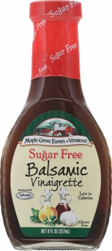 Maple Grove Farms Sugar Free Balsamic Vinaigrette Dressing Perspective: front