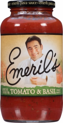 Emeril's Tomato & Basil Sauce Perspective: front