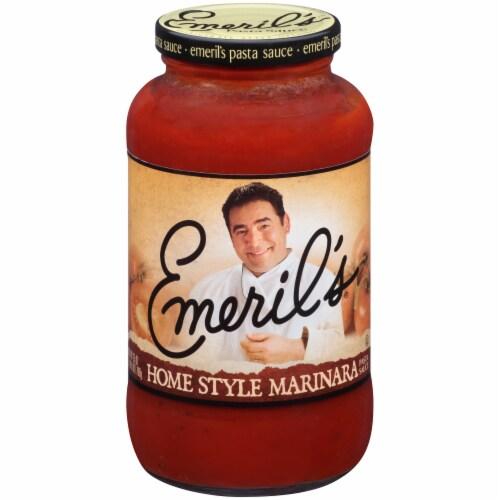 Emeril's Homestyle Marinara Pasta Sauce Perspective: front