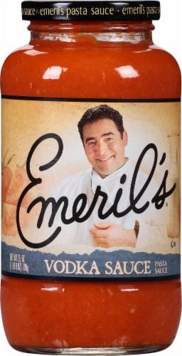 Emeril's Vodka Pasta Sauce Perspective: front